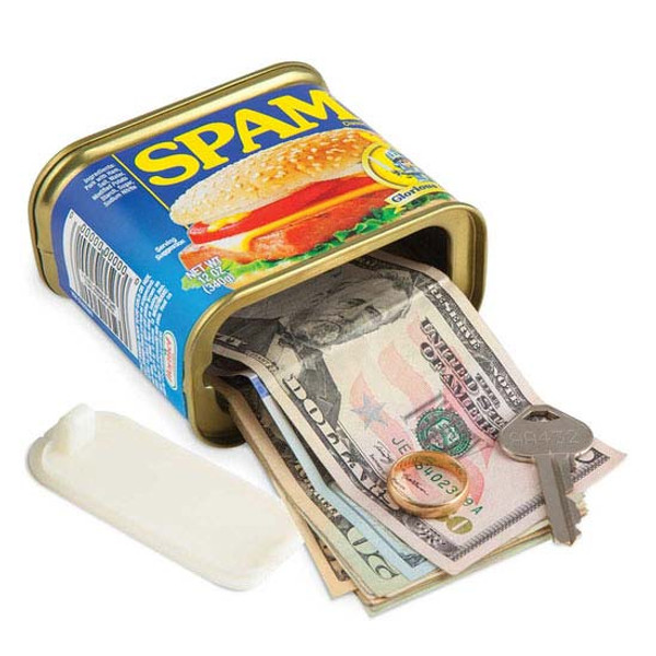 Spam® Can Decoy Secret Safe
