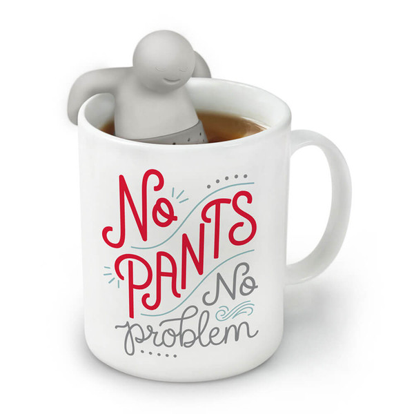 NO PANTS WITH MR. TEA