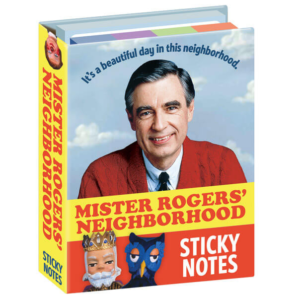 MISTER ROGERS' NEIGHBORHOOD STICKY NOTES