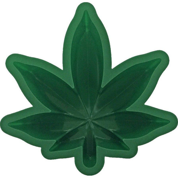 Marijuana Leaf Cake Mold