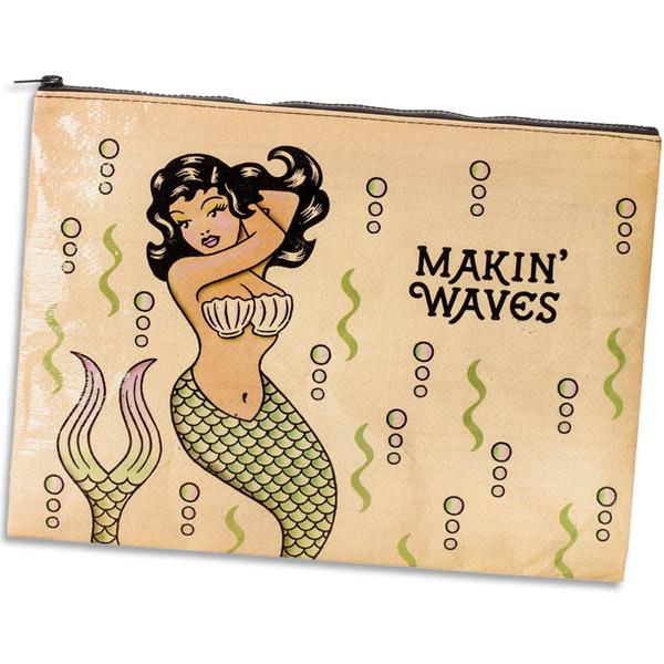 Makin' Waves Mermaid Jumbo Pouch
