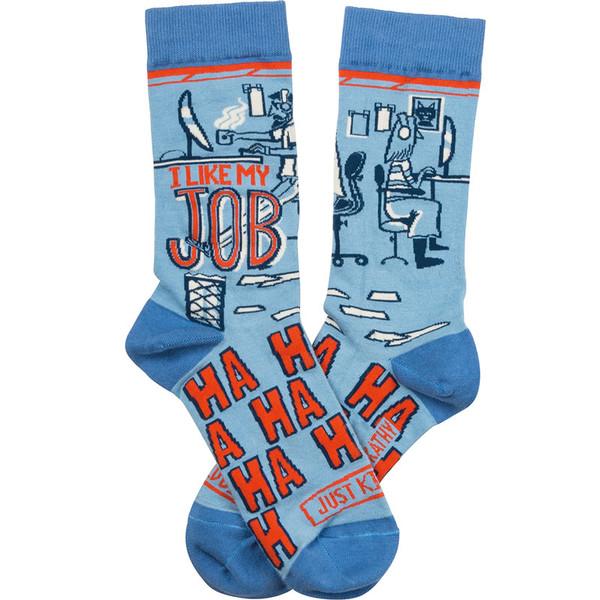 I Like My Job (Ha Ha Ha) Just Kidding Socks