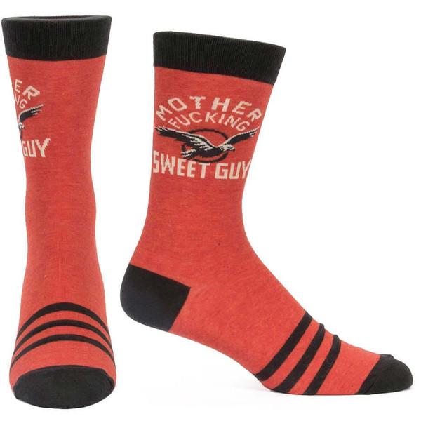 Blue Q Motherf*cking Sweet Guy Men's Socks