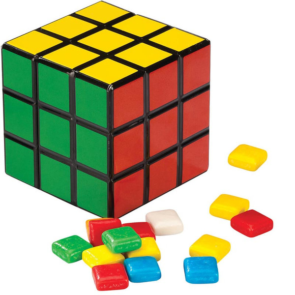 Rubik's Candy Tin with Gum