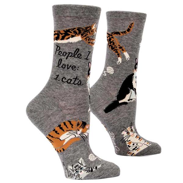 People I Love: Cats. Socks