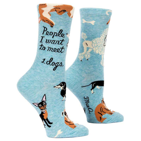 Blue Q People I Want To Meet: Dogs. Socks