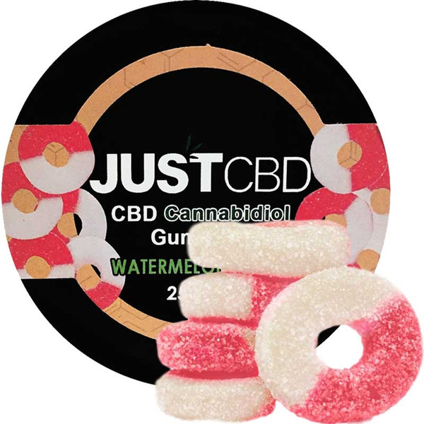 Where to buy 250mg CBD Gummy Watermelon Rings