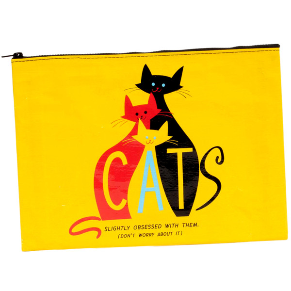 Cats: Slightly Obsessed With Them Jumbo Pouch
