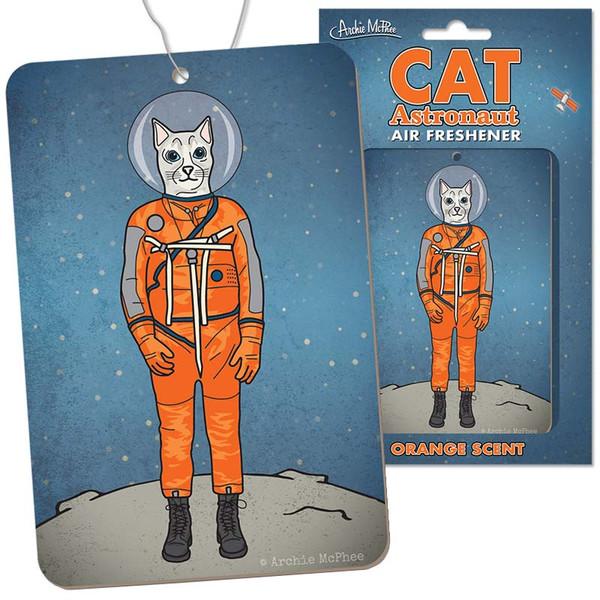 Cat Astronaut Air Freshener