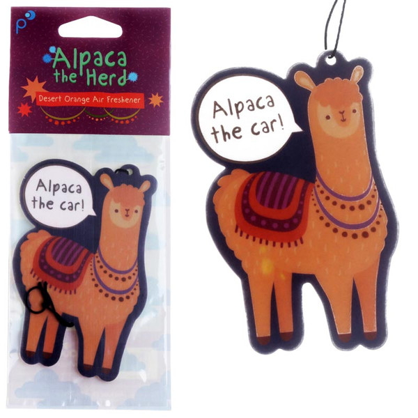 Alpaca The Car Air Freshener