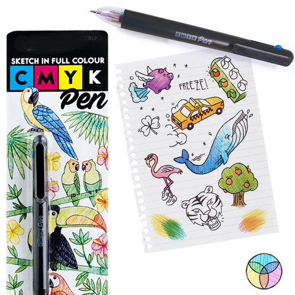 CYMK Pen - Now available