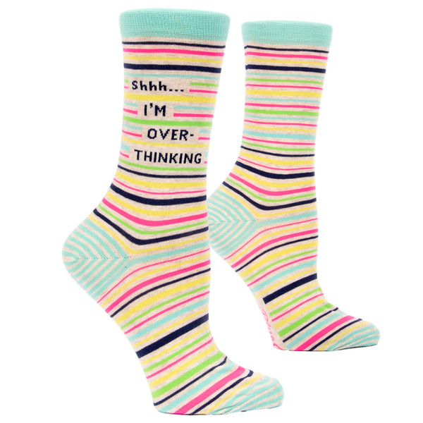 The perfect gift! Shhh... I'm Overthinking Socks