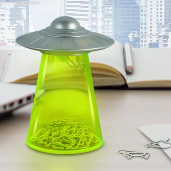 Flying Saucer UFO Paper Clip Holder