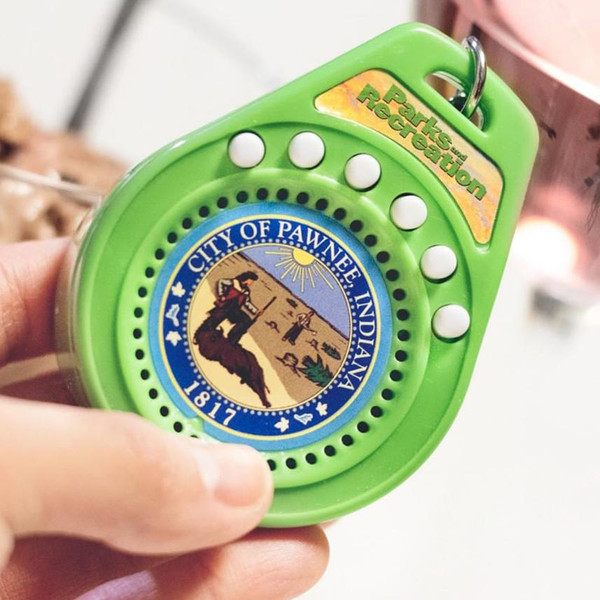 Parks and Recreation Talking Keychain