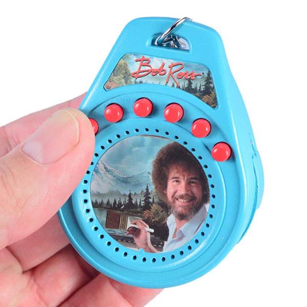 Bob Ross Talking Keychain
