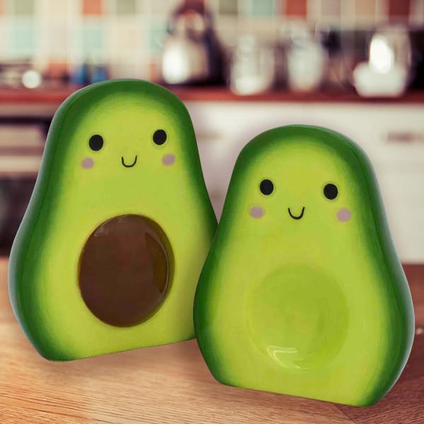 Avocado Salt + Pepper Set