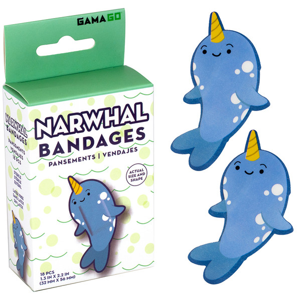 Narwhal Bandages