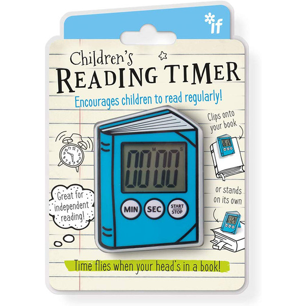 Children's Book Shaped Reading Timer