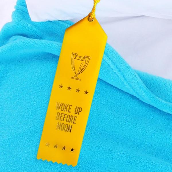 Woke Up Before Noon Award Ribbon