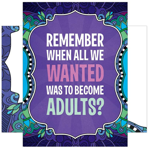 Remember When We Wanted To Become Adults? Greeting Card