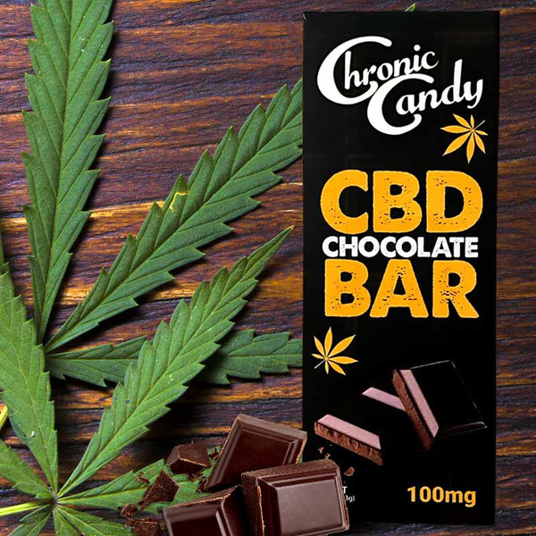 CBD Chocolate Bar 1.55 oz (100mg CBD) Buy