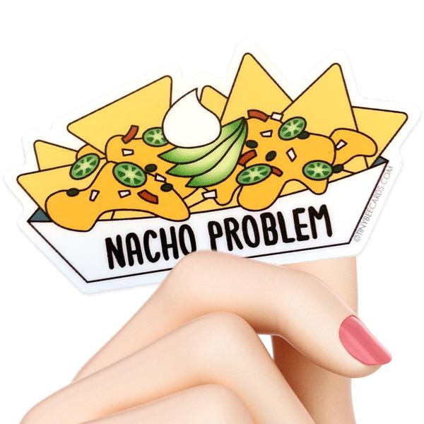 Nacho Cheese Problem Sticker