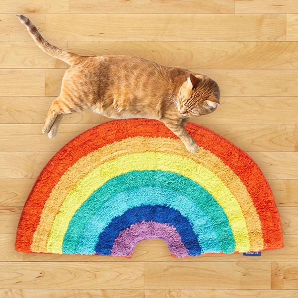 Rainbow Throw Rug | Sunny Life