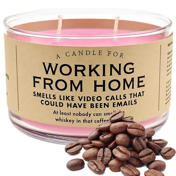 LIMITED EDITION Working From Home Candle