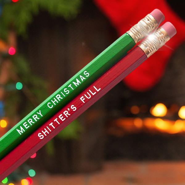 Merry Christmas Shitter's Full Pencil Set