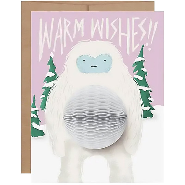 Yeti Pop-Up Holiday Card
