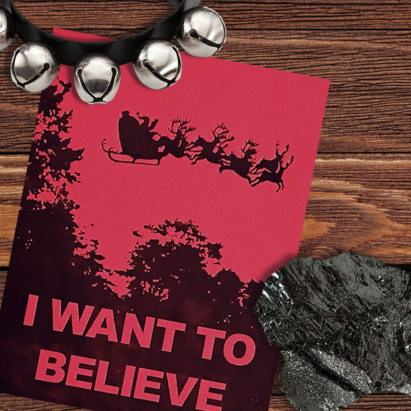 I Want To Believe Christmas Card
