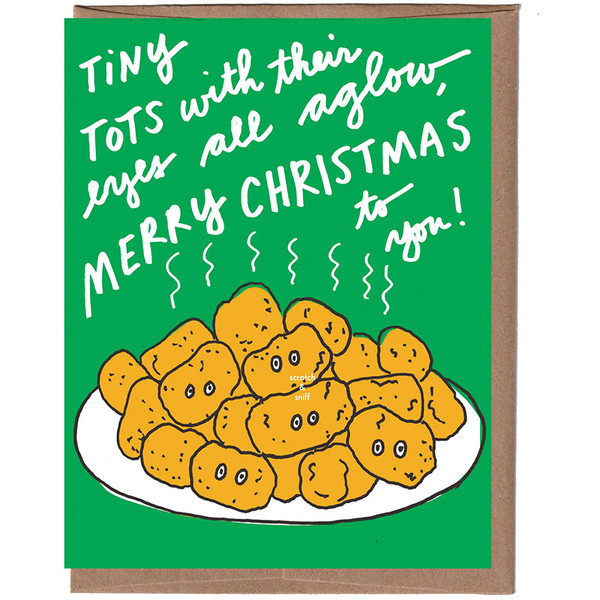 Scratch & Sniff Tiny Tots Holiday Card