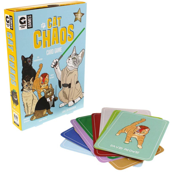 Celebrity Cat Chaos Card Game