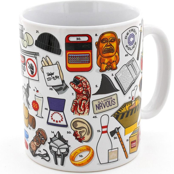 Movie Lovers Mug by Ginger Fox