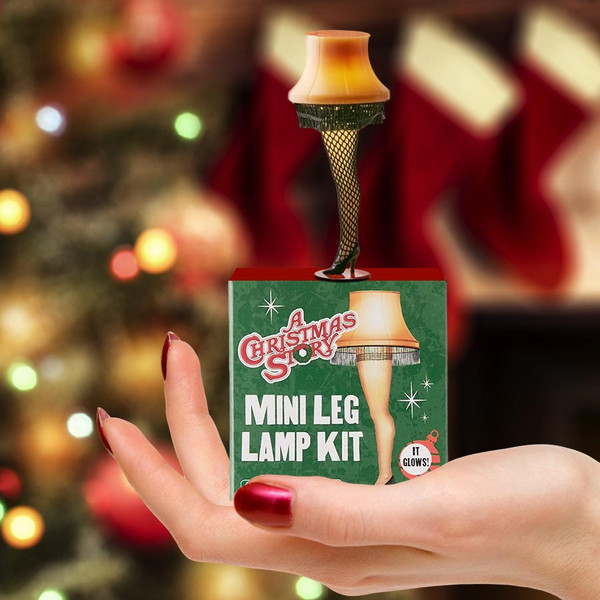 A Christmas Story Mini Leg Lamp Stocking Stuffer