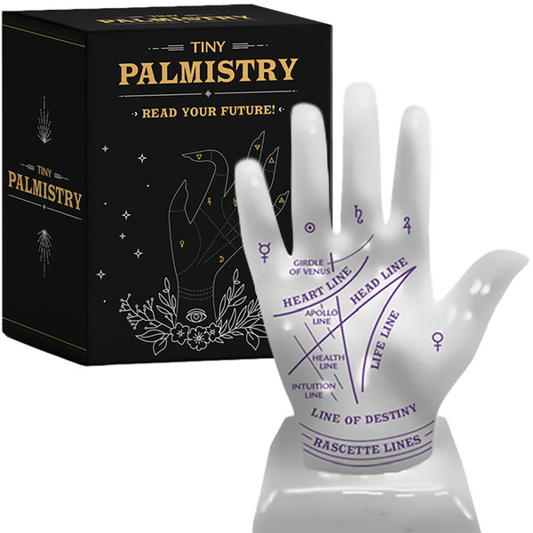 Tiny Palmistry Palm Reading Book + Hand