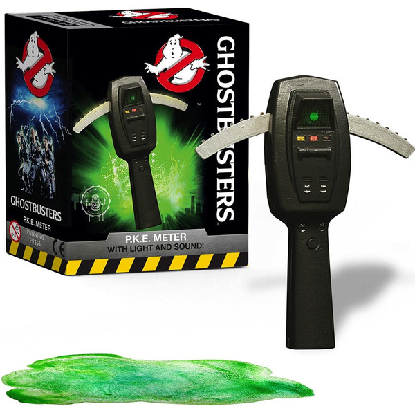 Ghostbusters P.K.E. Meter with Light + Sound