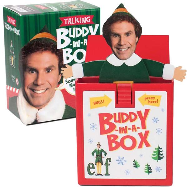 Elf Talking Buddy-in-a-Box Stocking Stuffer