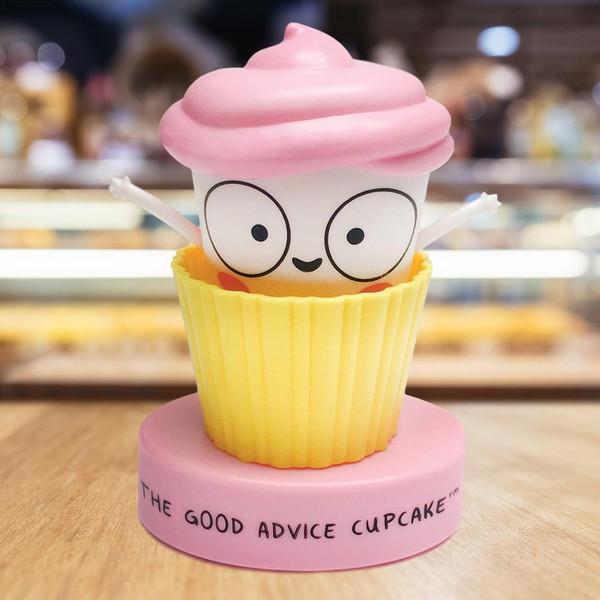 The Good Advice Talking Cupcake