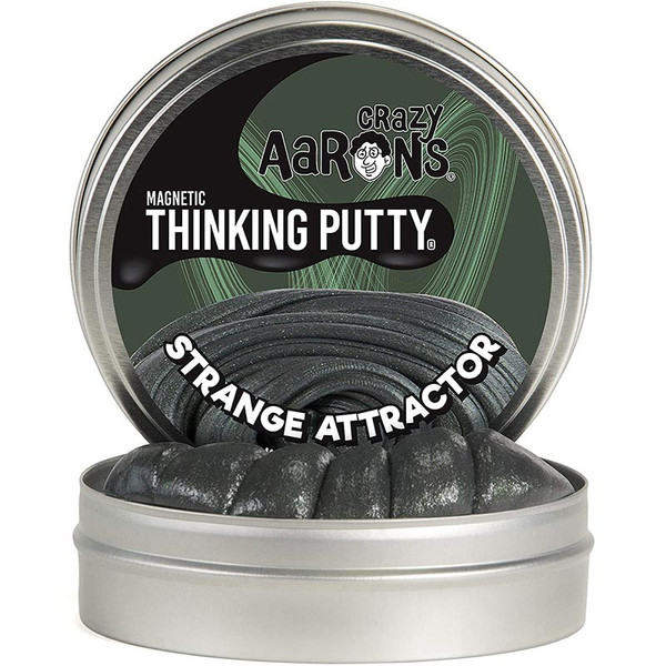 Strange Attractor Magnetic Thinking Putty by Crazy Aaron