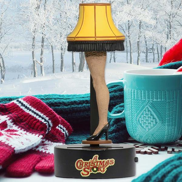 A Christmas Story Leg Lamp Solar Body Knocker