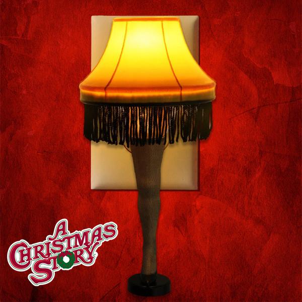 A Christmas Story Leg Lamp Nightlight