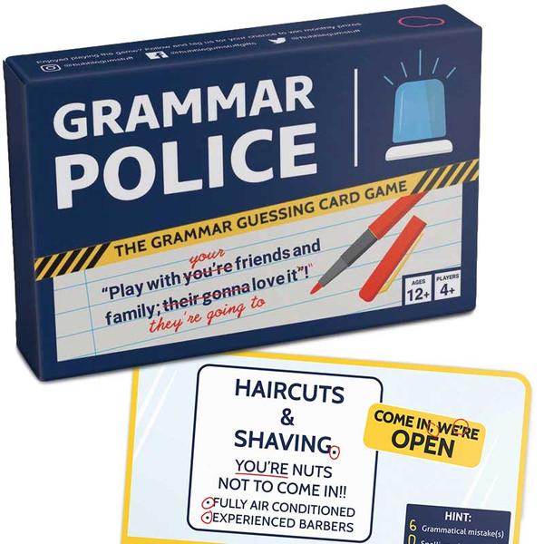 Bubblegum Stuff - Grammar Police Game