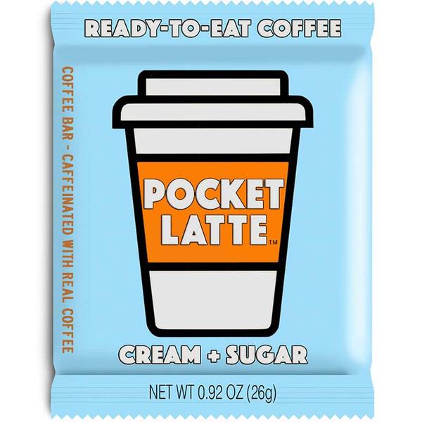 Pocket Latte - Caffeinated Coffee, Cream & Sugar Chocolate