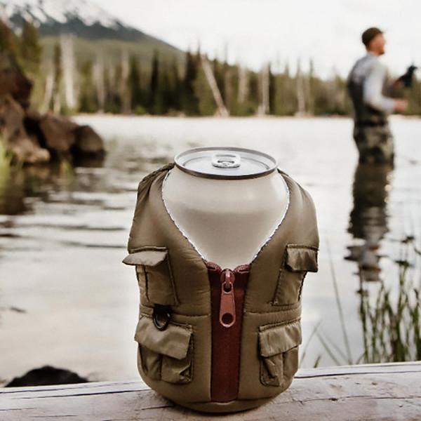 Puffin Fishing Adventure Beverage Vest