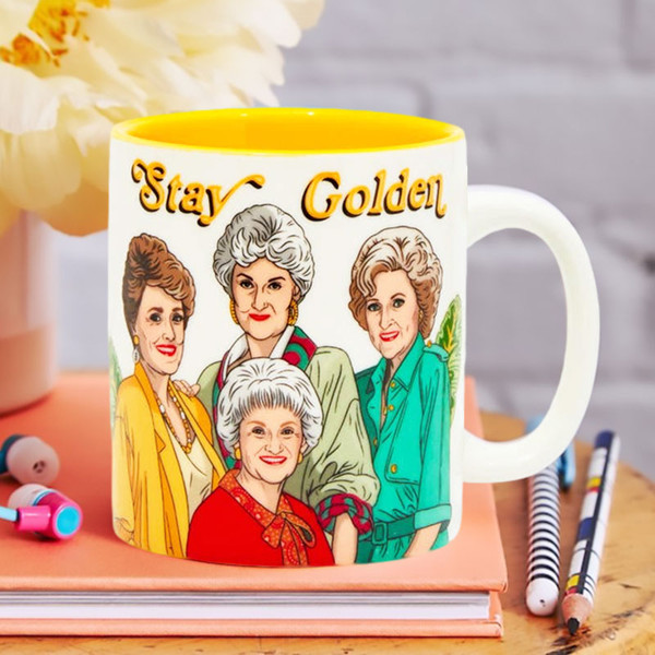 Golden Girls Stay Golden Friendship Mug