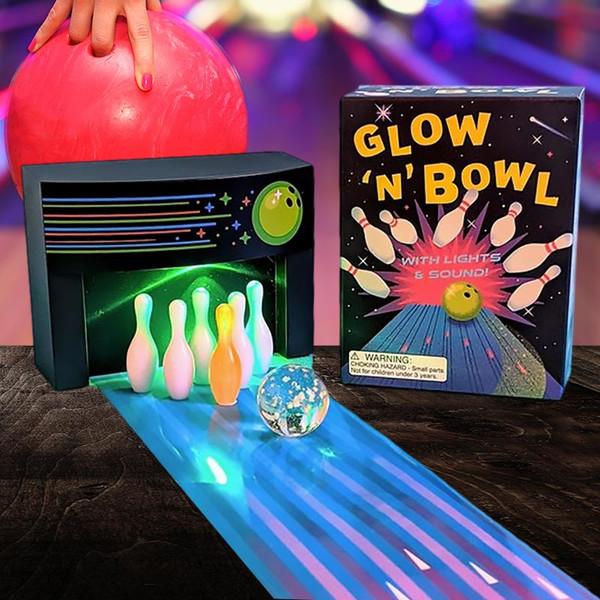 Cosmic Bowling Mini Game