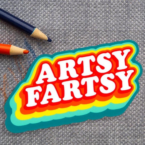 Artsy Fartsy Sticker