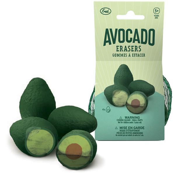 Avocado Erasers