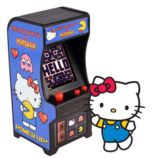 World's Smallest Hello Kitty Pac-Man Arcade Game